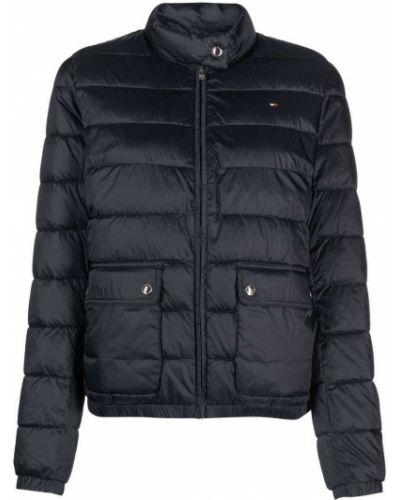 Куртка с перьями - синяя Tommy Hilfiger