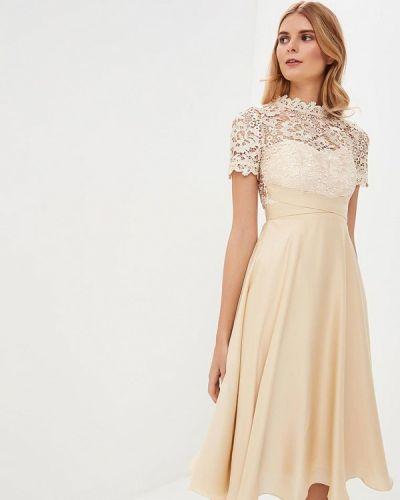 Вечернее платье бежевое Little Mistress