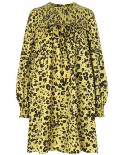 Żółta sukienka Munthe