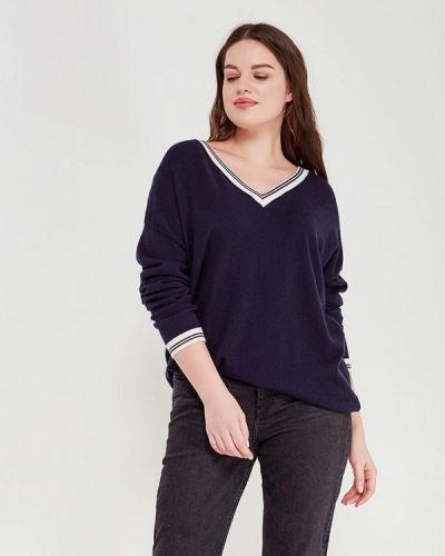 Синий пуловер Modis