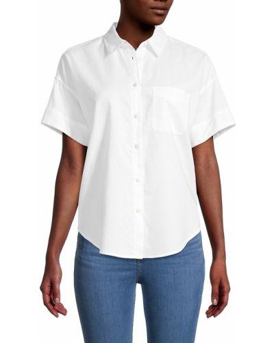 Biała koszula krótki rękaw - biała Rag & Bone