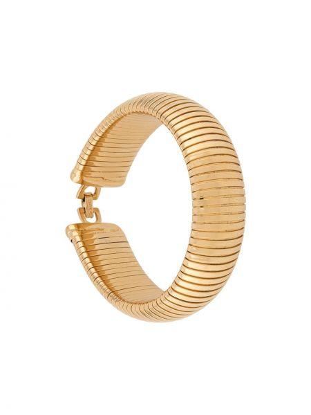 Bransoletka ze złota łańcuch pozłacany Christian Dior