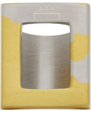 Pierścień srebro ze złota A-cold-wall*