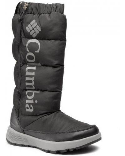 Czarny śniegowce Columbia