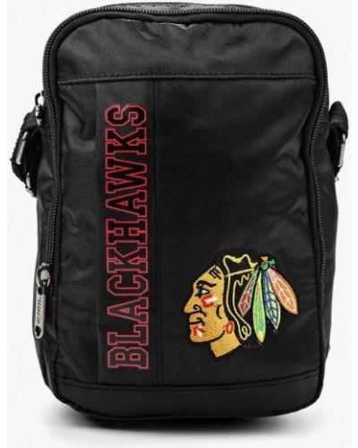 Черная спортивная сумка Atributika & Club™