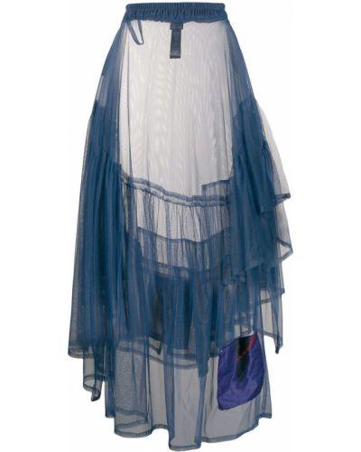 Приталенная асимметричная юбка Barbara Bologna
