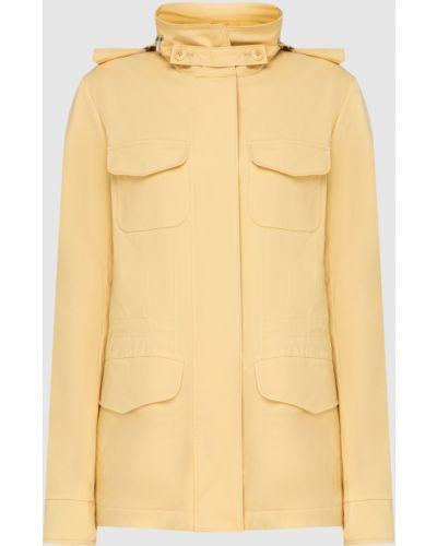 Желтая куртка Loro Piana