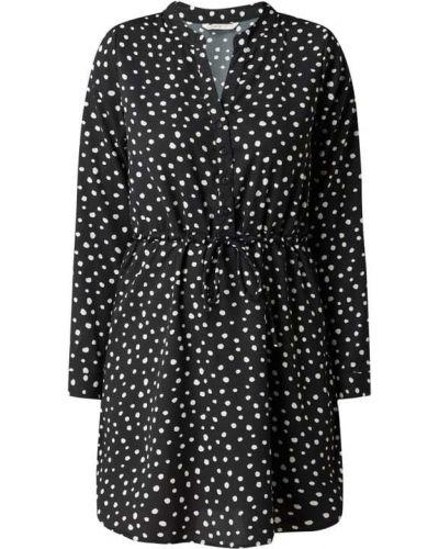 Czarna sukienka z długimi rękawami Only