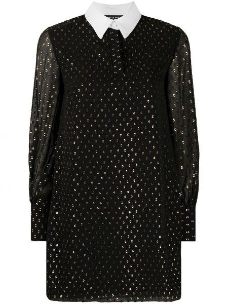 Платье макси длинное - черное Frankie Morello