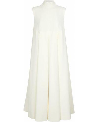 Белое платье миди Emilia Wickstead