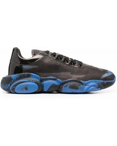 Sneakersy - czarne Moschino