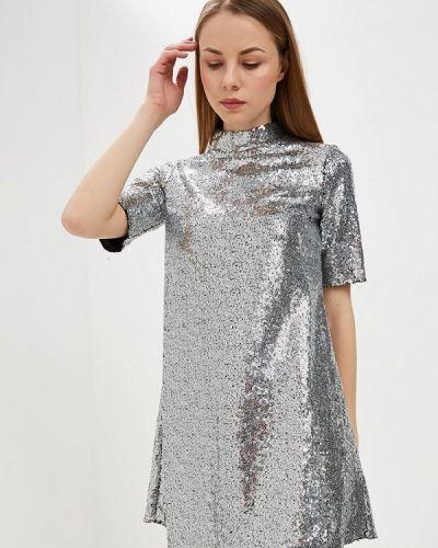 Серебряное вечернее платье Ovs