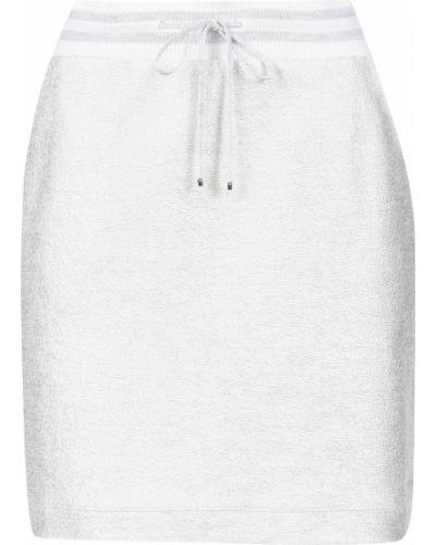 Хлопковая юбка - серая D.exterior