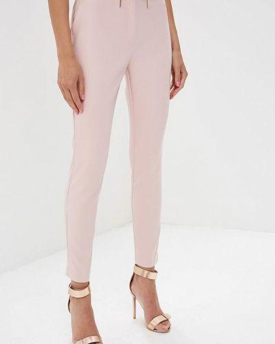 Розовые зауженные брюки Love Republic