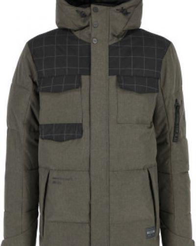 Спортивная утепленная куртка на молнии с капюшоном Termit