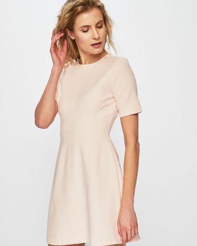 Платье мини прямое на молнии Answear