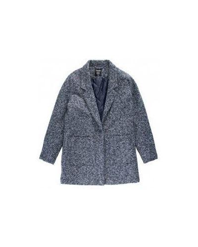 Пальто - синее Moodo