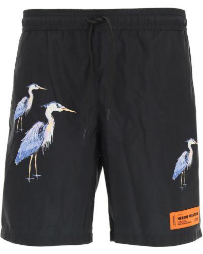 Spodenki do pływania na rzepy Heron Preston
