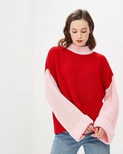 Красный свитер весенний Glamorous