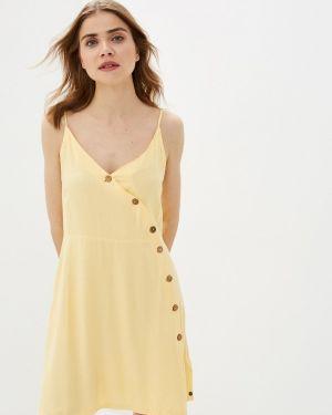 Платье платье-сарафан желтый Roxy