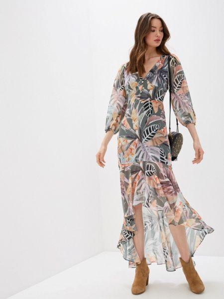 Разноцветное платье Marciano Los Angeles