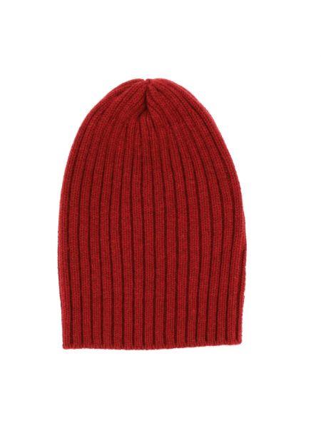 Czerwona czapka beanie Fedeli