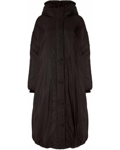 Зимнее пальто с капюшоном оверсайз Novaya