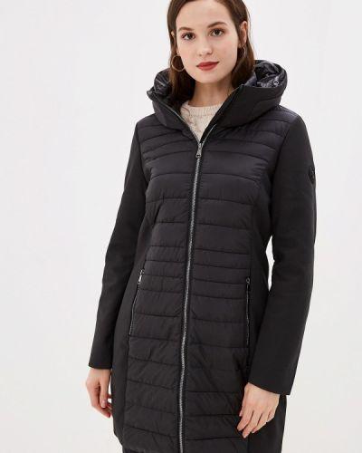 Утепленная куртка демисезонная черная S.oliver