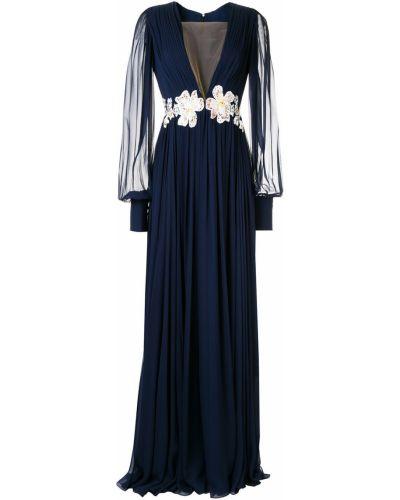 Платье с декольте на пуговицах Rhea Costa