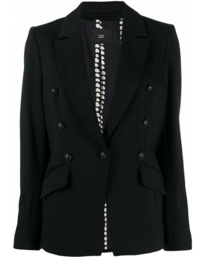 Черный классический пиджак с карманами Steffen Schraut