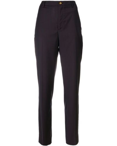 Коричневые классические брюки Vivienne Westwood