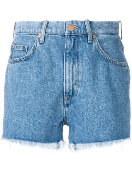 Джинсовые шорты классические - синие Mih Jeans