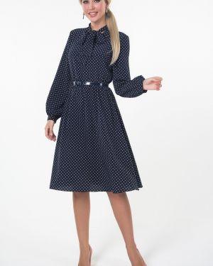 Платье в горошек платье-сарафан Valentina