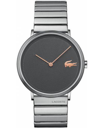 Черные часы Lacoste