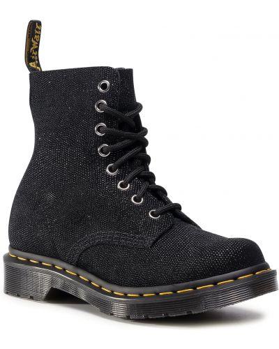 Skórzany czarny buty skórzane Dr. Martens