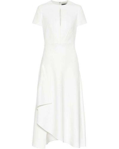 Платье миди из вискозы приталенное Roland Mouret