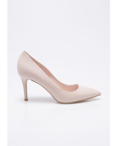 Розовые туфли на высоком каблуке Gino Rossi