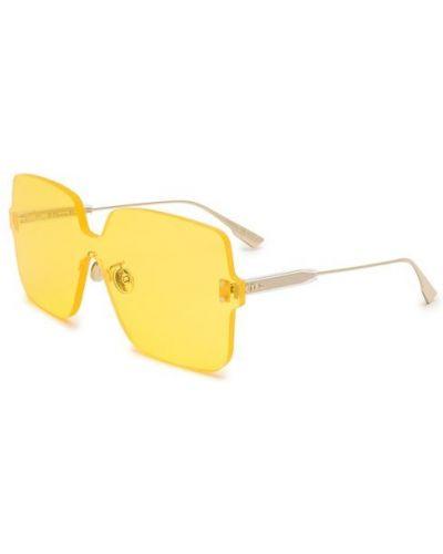 Солнцезащитные очки металлические с логотипом Dior