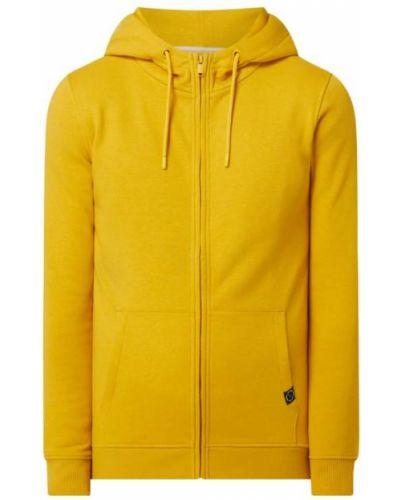 Żółta bluza rozpinana bawełniana Mcneal
