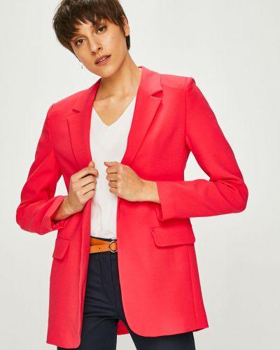 Классический пиджак прямой розовый Trendyol