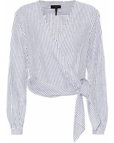 Блузка из штапеля батник Rag & Bone