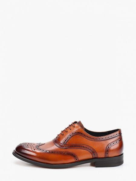 Кожаные коричневые туфли Marco Lippi