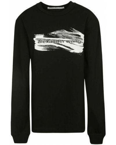 Czarna t-shirt Alexander Wang