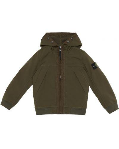 Куртка - зеленая Stone Island Junior