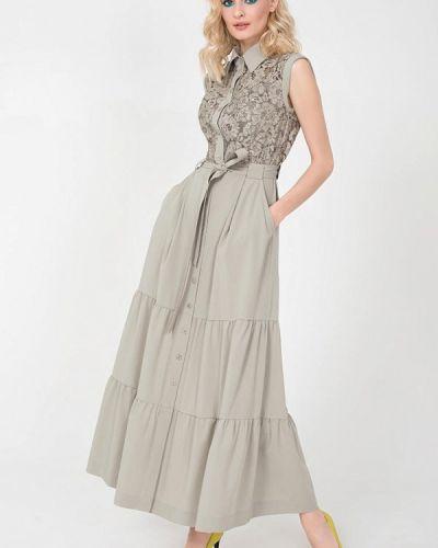 Платье - зеленое Jn