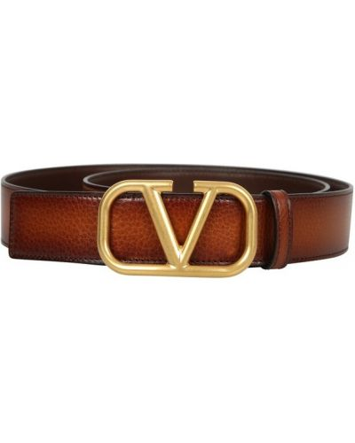 Pasek z paskiem - brązowy Valentino
