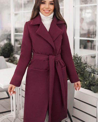 Шерстяное пальто - красное Fashions