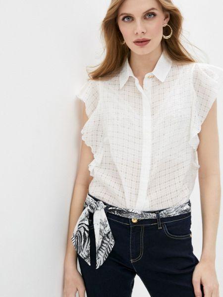 Белая блузка Cavalli Class