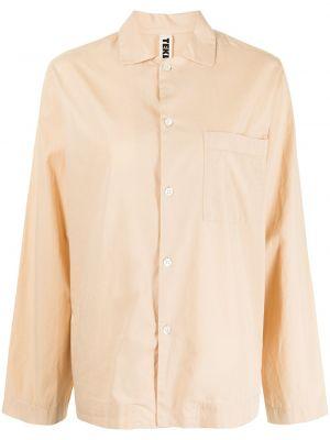 Klasyczna koszula - brązowa Tekla