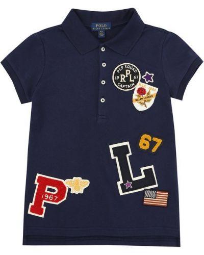 Поло с логотипом Polo Ralph Lauren